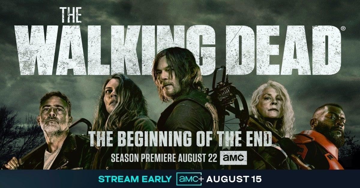 The Walking Dead Final Season 11 Key Art