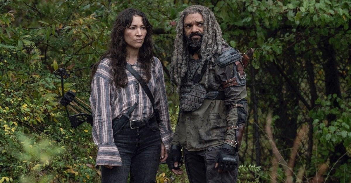 The Walking Dead Khary Payton Eleanor Matsuura