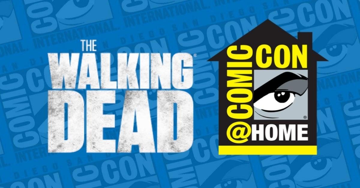 The Walking Dead San Diego Comic-Con at Home comicbookcom