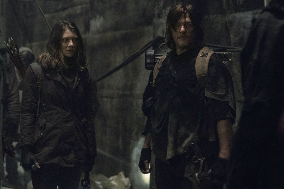 The Walking Dead Season 11 Daryl and Maggie