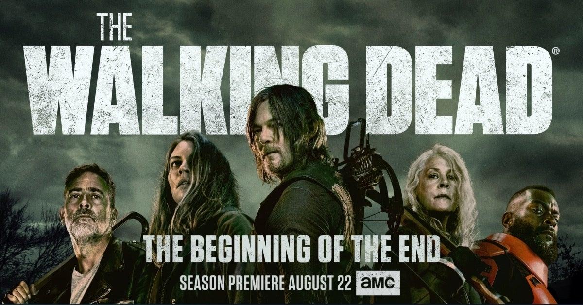 The Walking Dead Season 11 key art Final Season