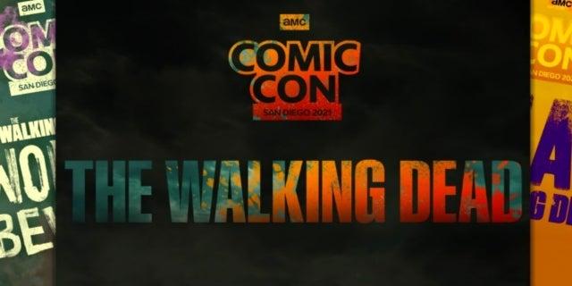 The Walking Dead Universe Comic-Con at Home 2021