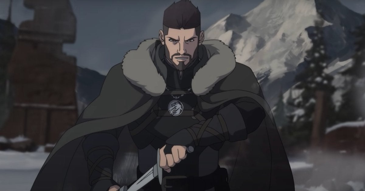 The Witcher Nightmare of the Wolf Netflix Anime First Look Vesemir