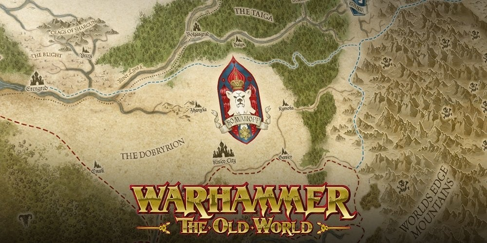warhammer the old world logo