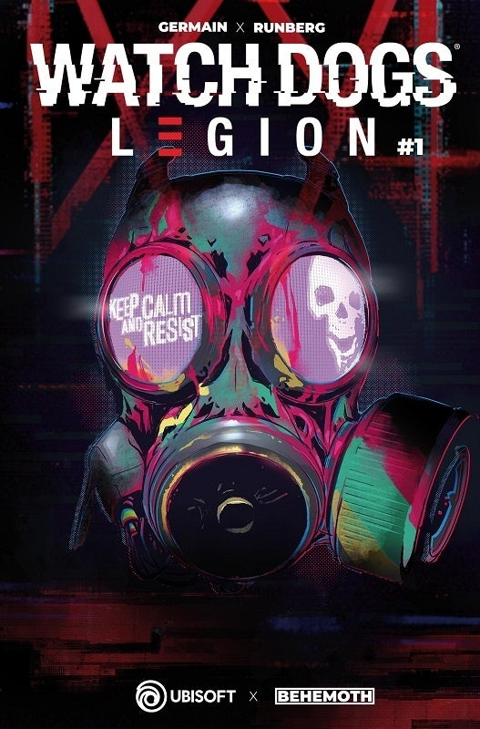 Watch Dogs Legion Comic Cover