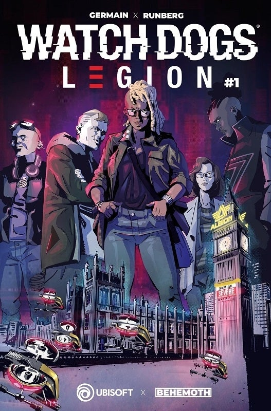 Watch Dogs Legion Comic Cover A
