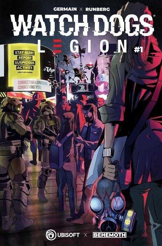 Watch Dogs Legion Comic Cover B