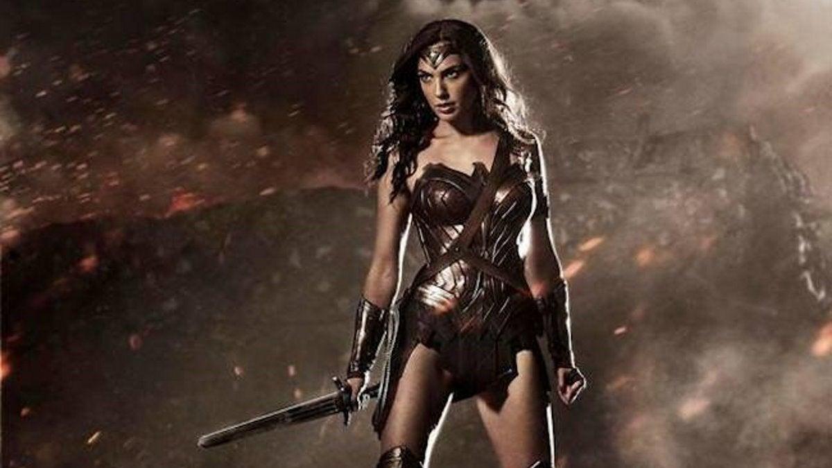 Wonder Woman Gal Gadot SDCC 2014