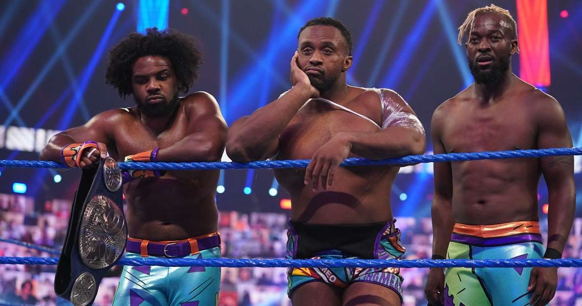 WWE New Day Civil War