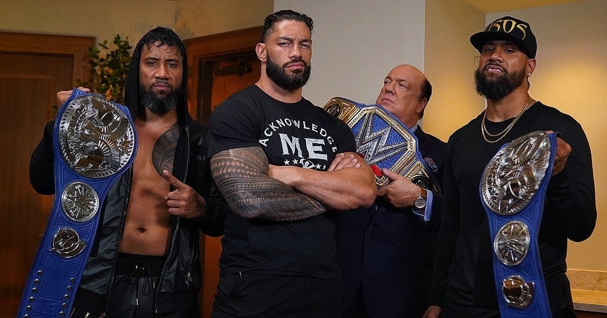 WWE-Roman-Reigns-Usos-The-Bloodline-Champions