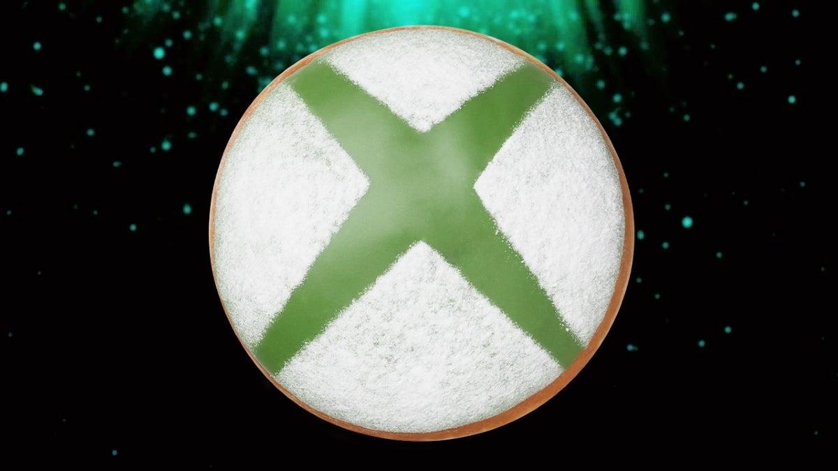 xbox krispy kreme donut new cropped hed