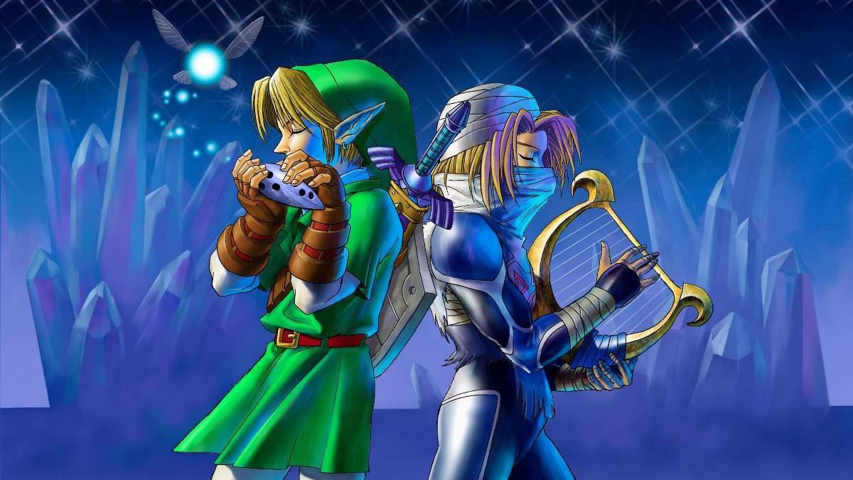 Zelda Link Sheik