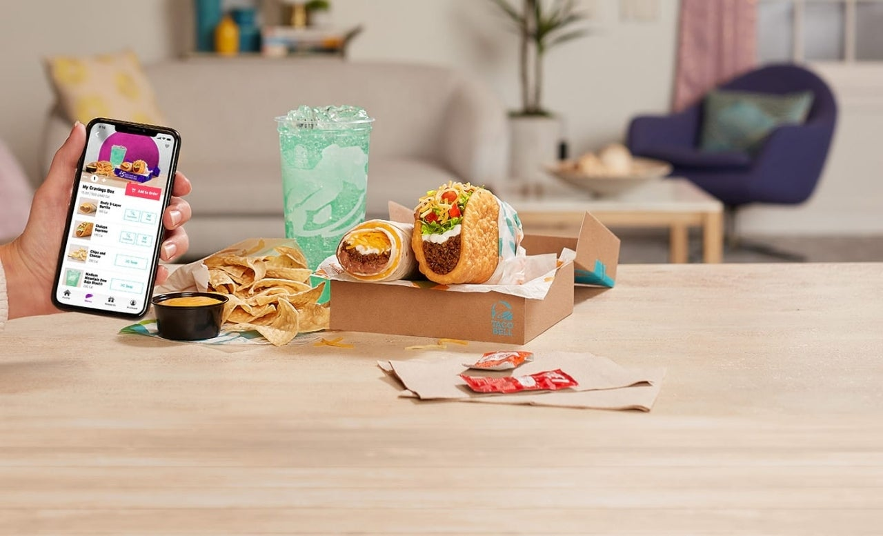 $5 Build Your Own Cravings Box on Taco Bell Rewards