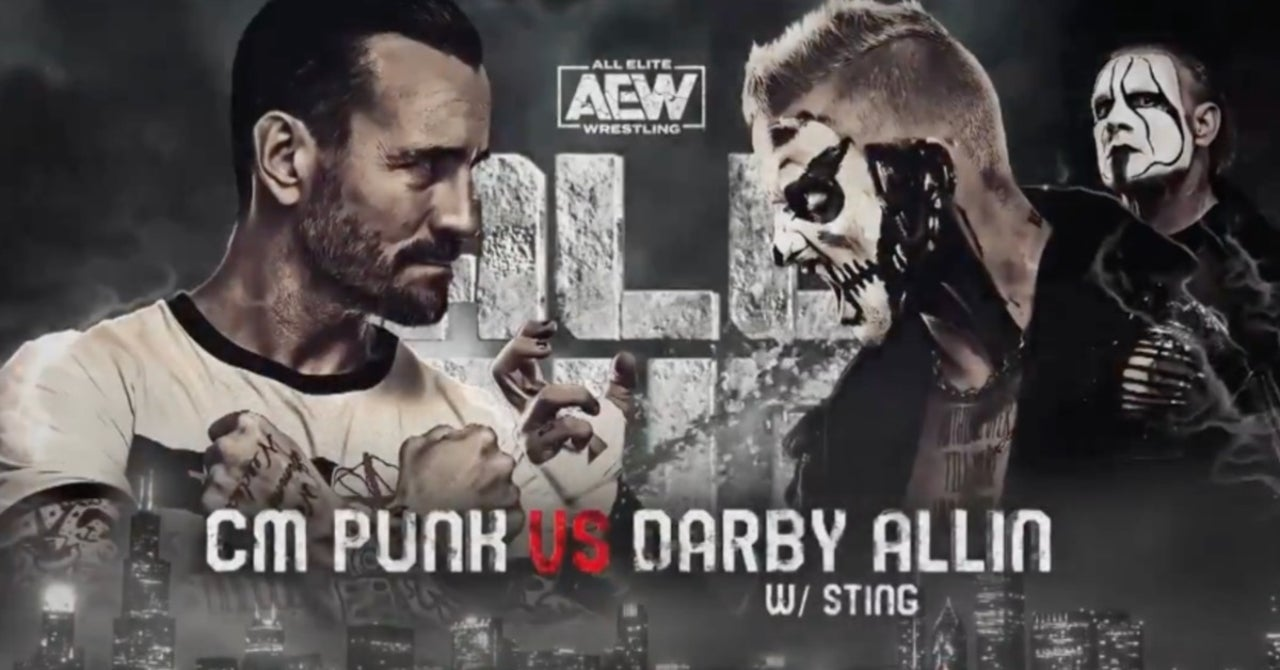 Spoiler On CM Punk Vs. Darby Allin Match From AEW All Out 2021 89