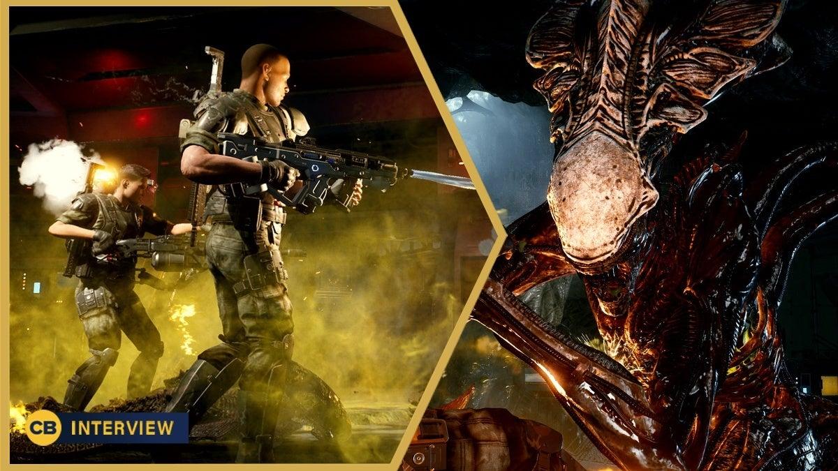Aliens Fireteam Elite Interview3