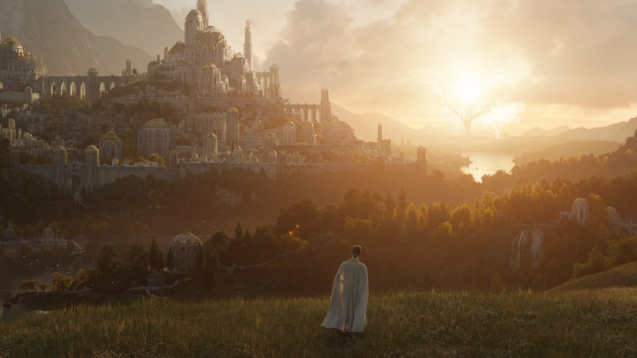 amazon lord of the rings tv first look