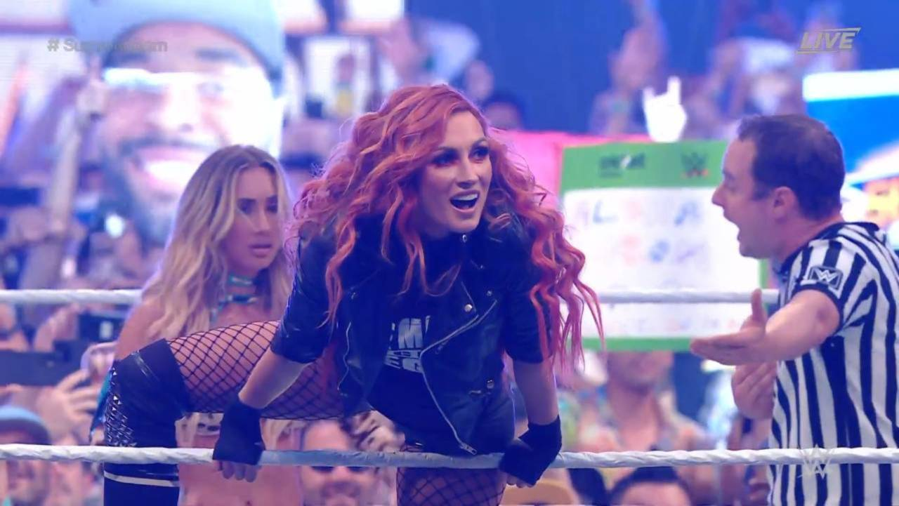 WWE's Becky Lynch Returns at SummerSlam to Win SmackDown Women's Title