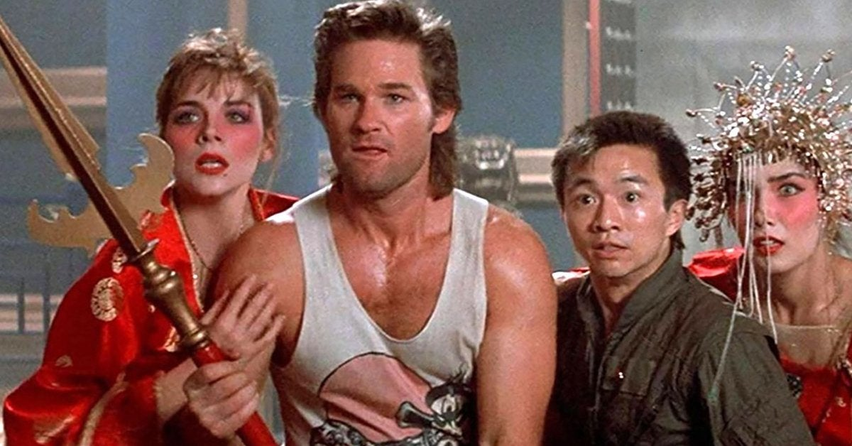 big trouble in little china 1986 kurt russell
