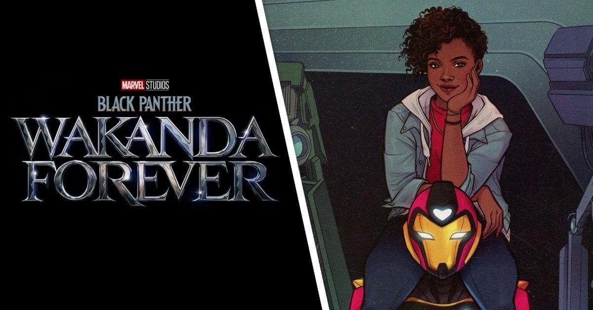 black panther wakanda forever ironheart riri williams