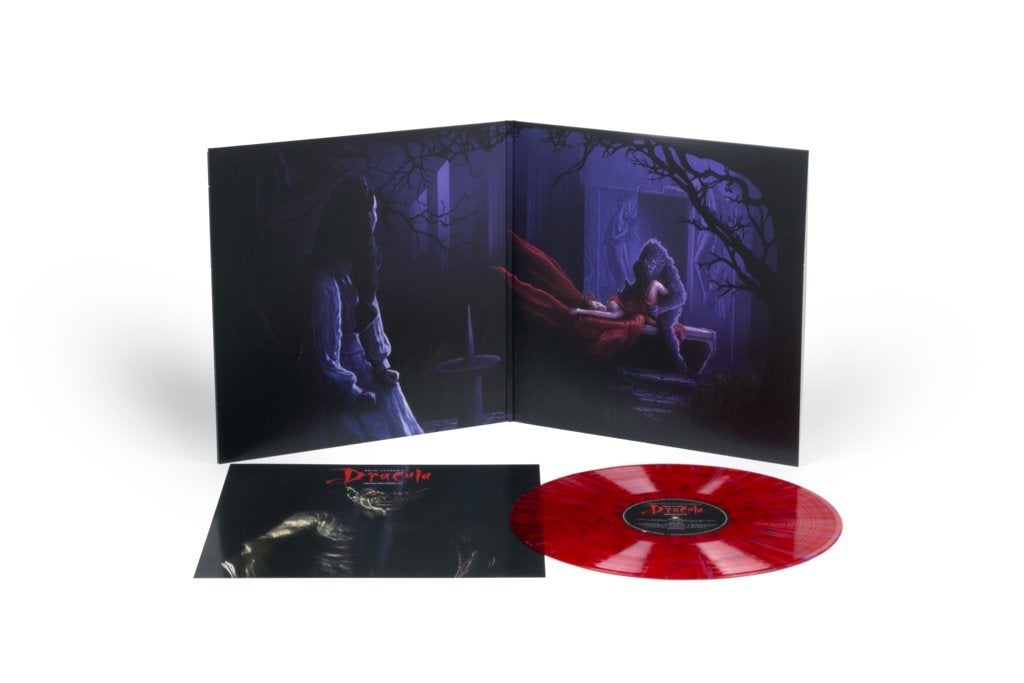 bram stoker's dracula soundtrack score mondo vinyl recorsd