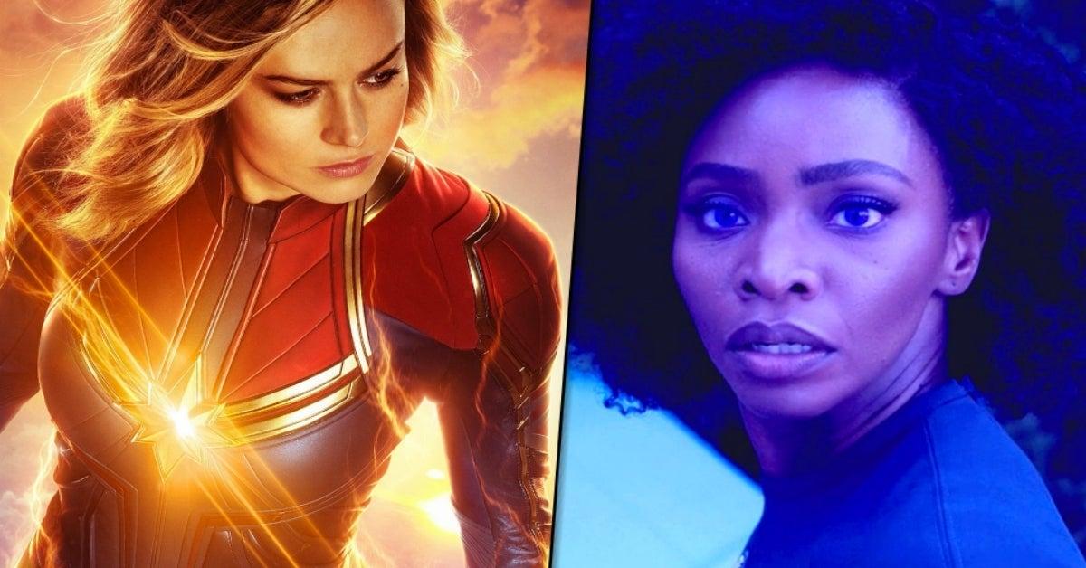 Captain Marvel 2 The Marvels Brie Larson Teyonah Parris