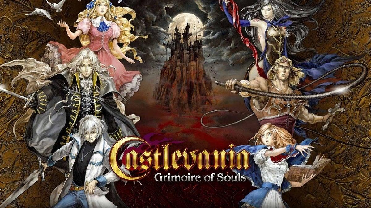 Castlevanie Grimoire of Souls