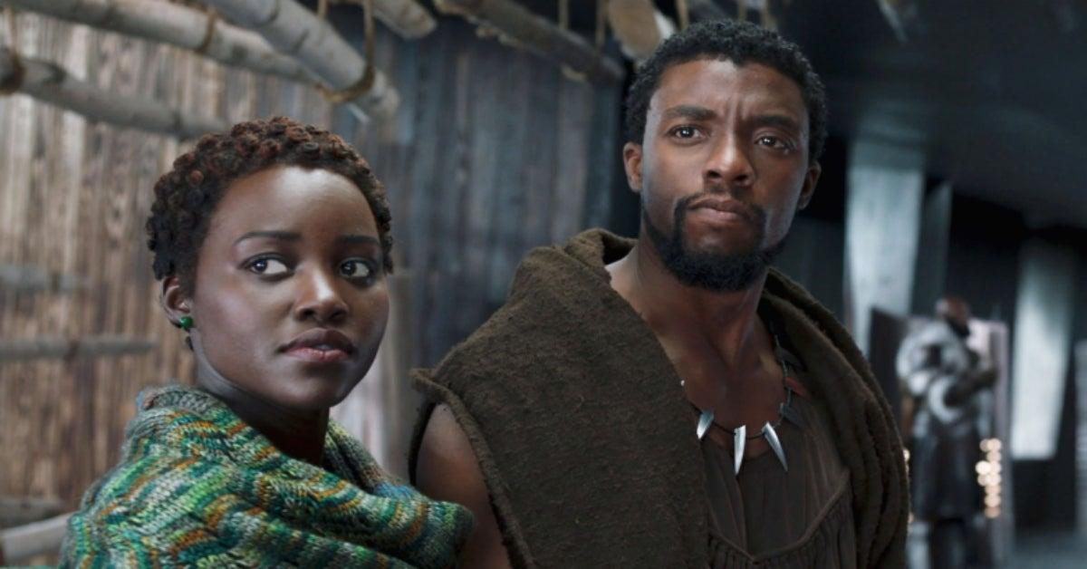 Chadwick Boseman Lupita Nyongo Black Panther
