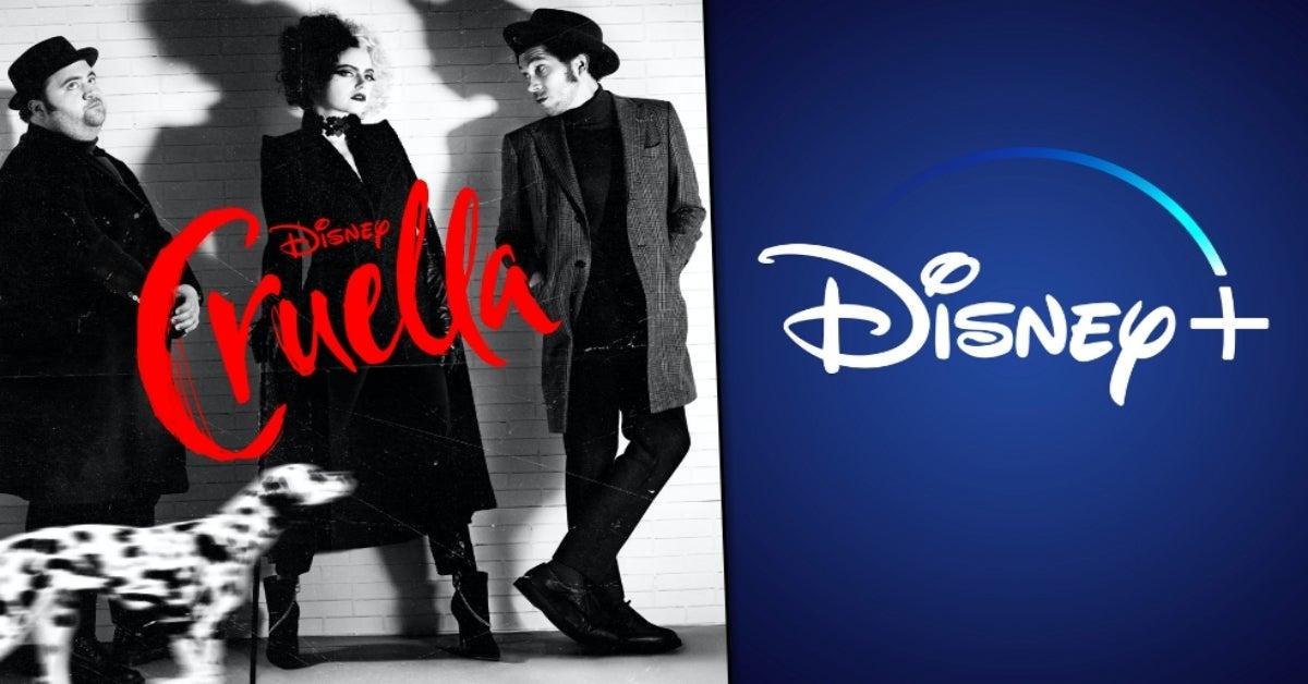 Cruella streaming Disney+ comicbookcom