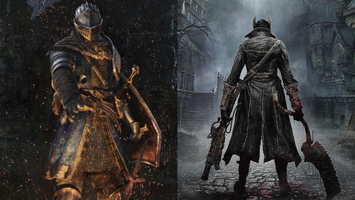 Dark Souls Bloodborne