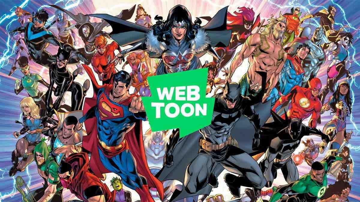 DC Comics Webtoon Partnership