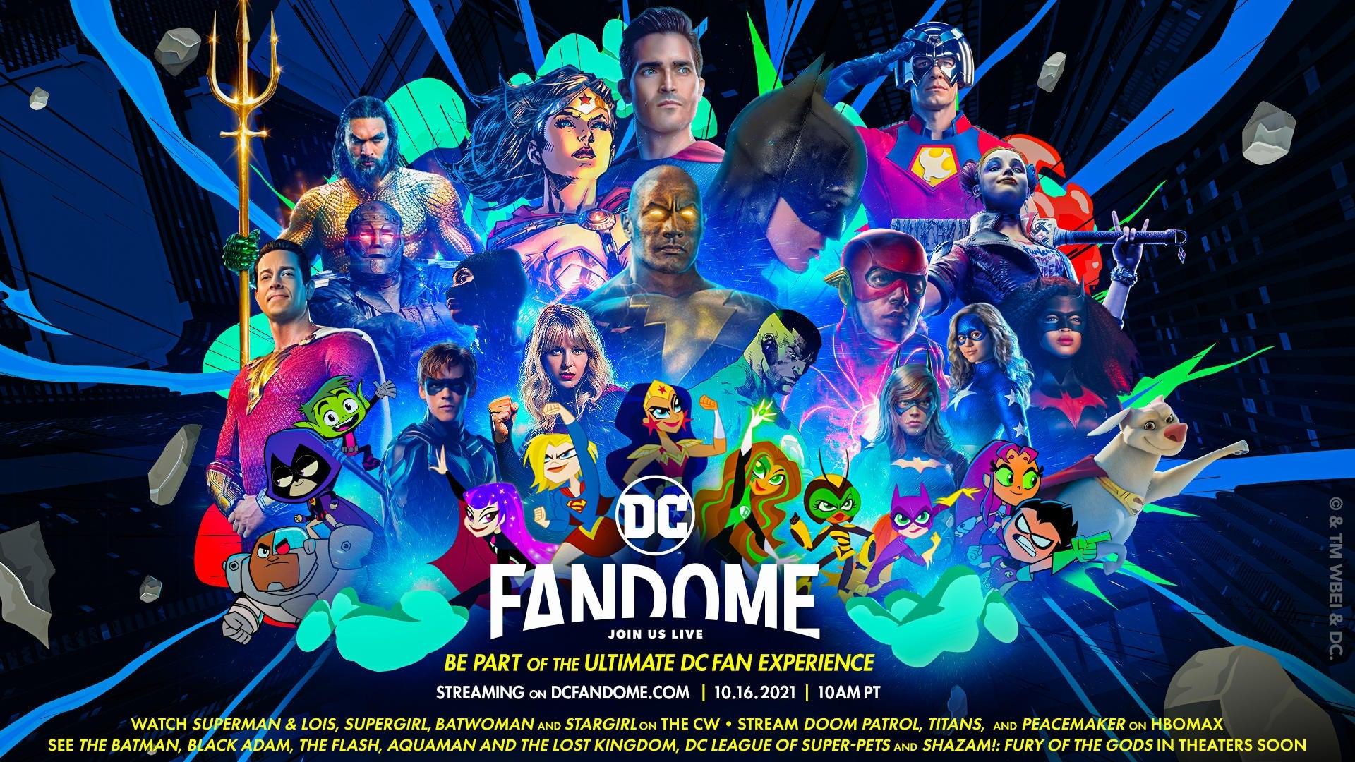 DC FanDome 2021 Launch Trailer