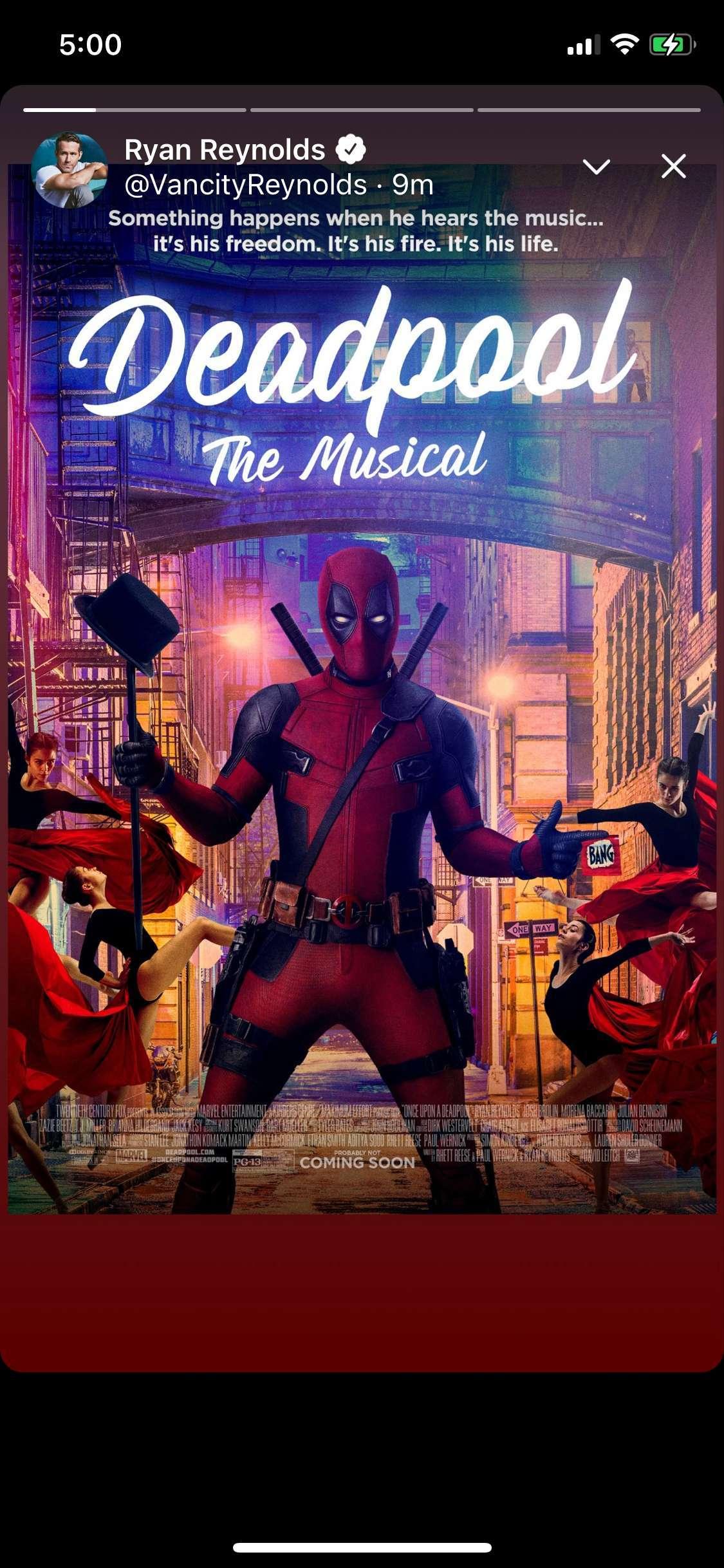 deadpool the musical
