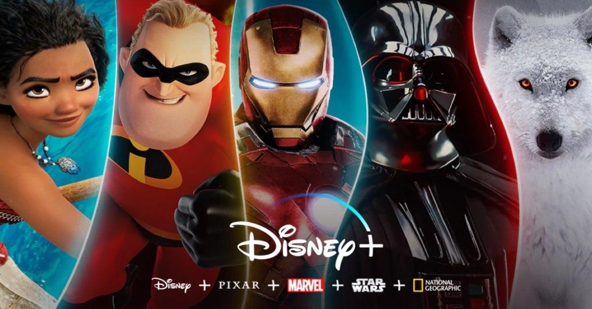 Disney+ Plus Marvel Star Wars Pixar National Geographic