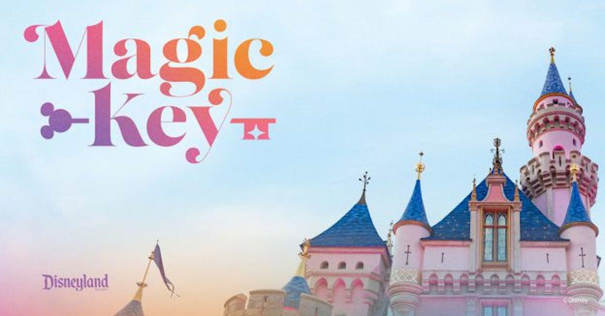 Disneyland Magic Key Passes Explained