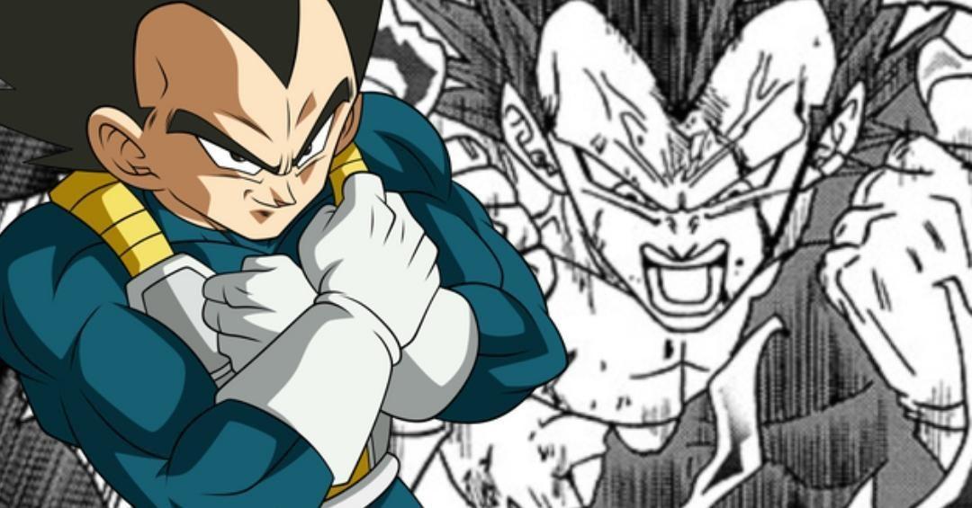 Dragon Ball Super Manga Chapitre 75 Végéta