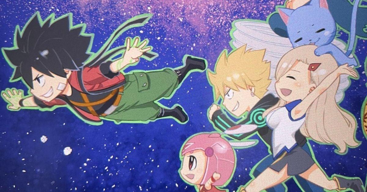Edens Zero 3rd Anniversary Hiro Mashima Anime Manga Art