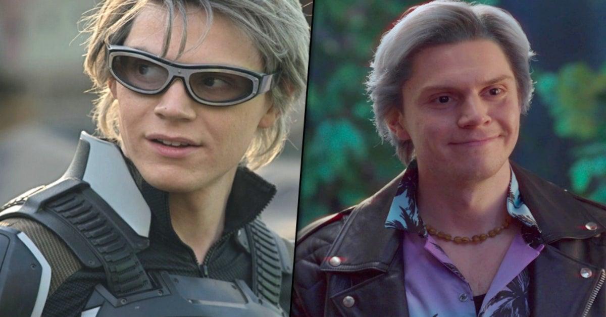 Evan Peters WandaVision X-Men Quicksilver