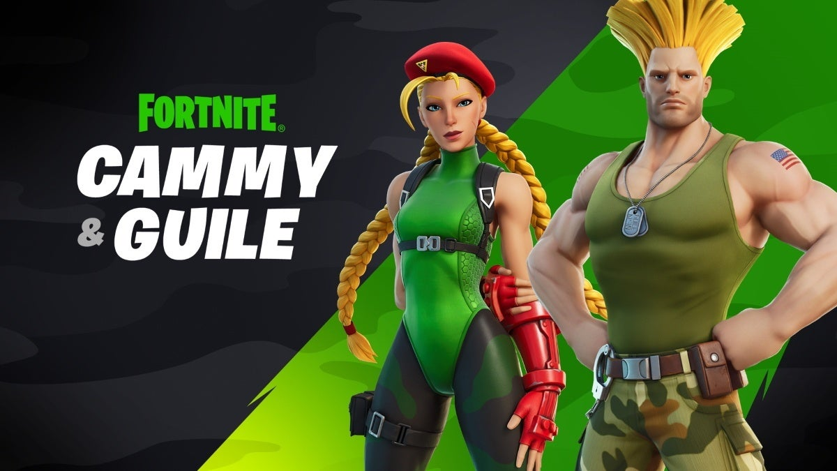 fortnite cammy guile new cropped hed
