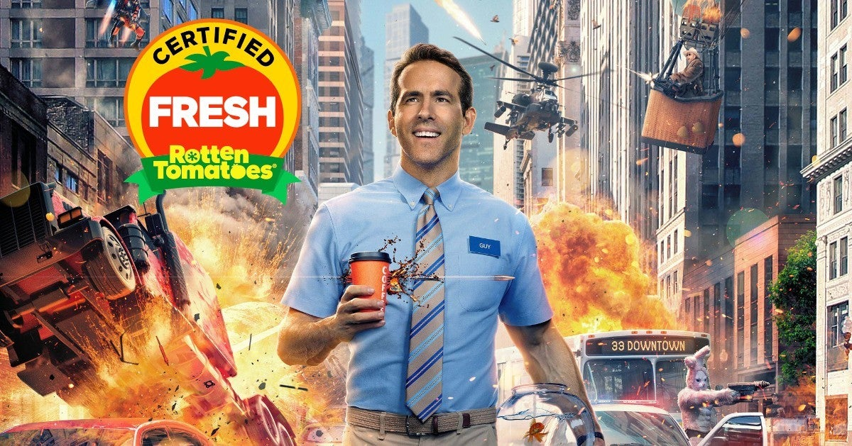 Free Guy Certified Fresh Rotten Tomatoes