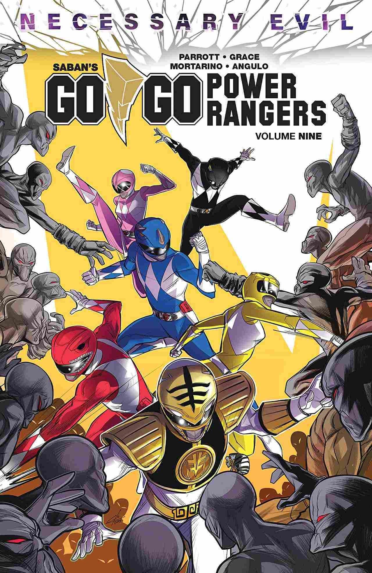 Go Go Power Rangers Vol 9