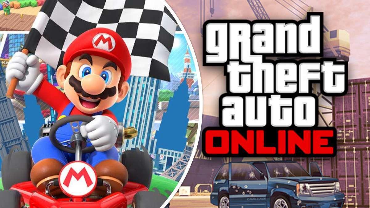 GTA Online Mario Kart