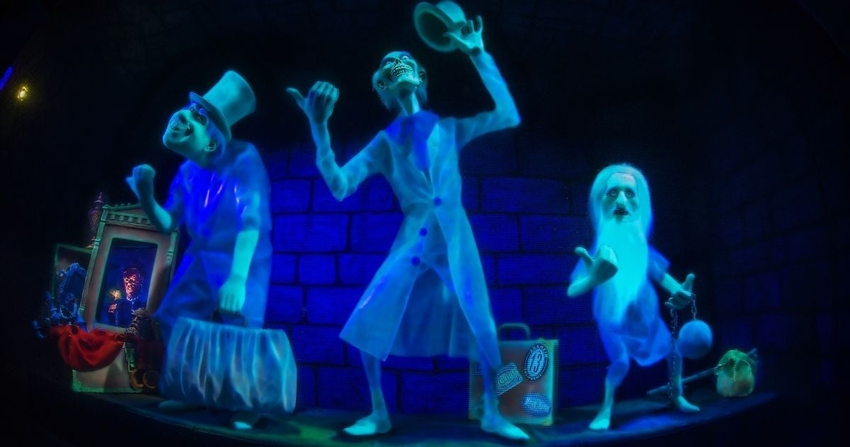 haunted mansion movie ghosts