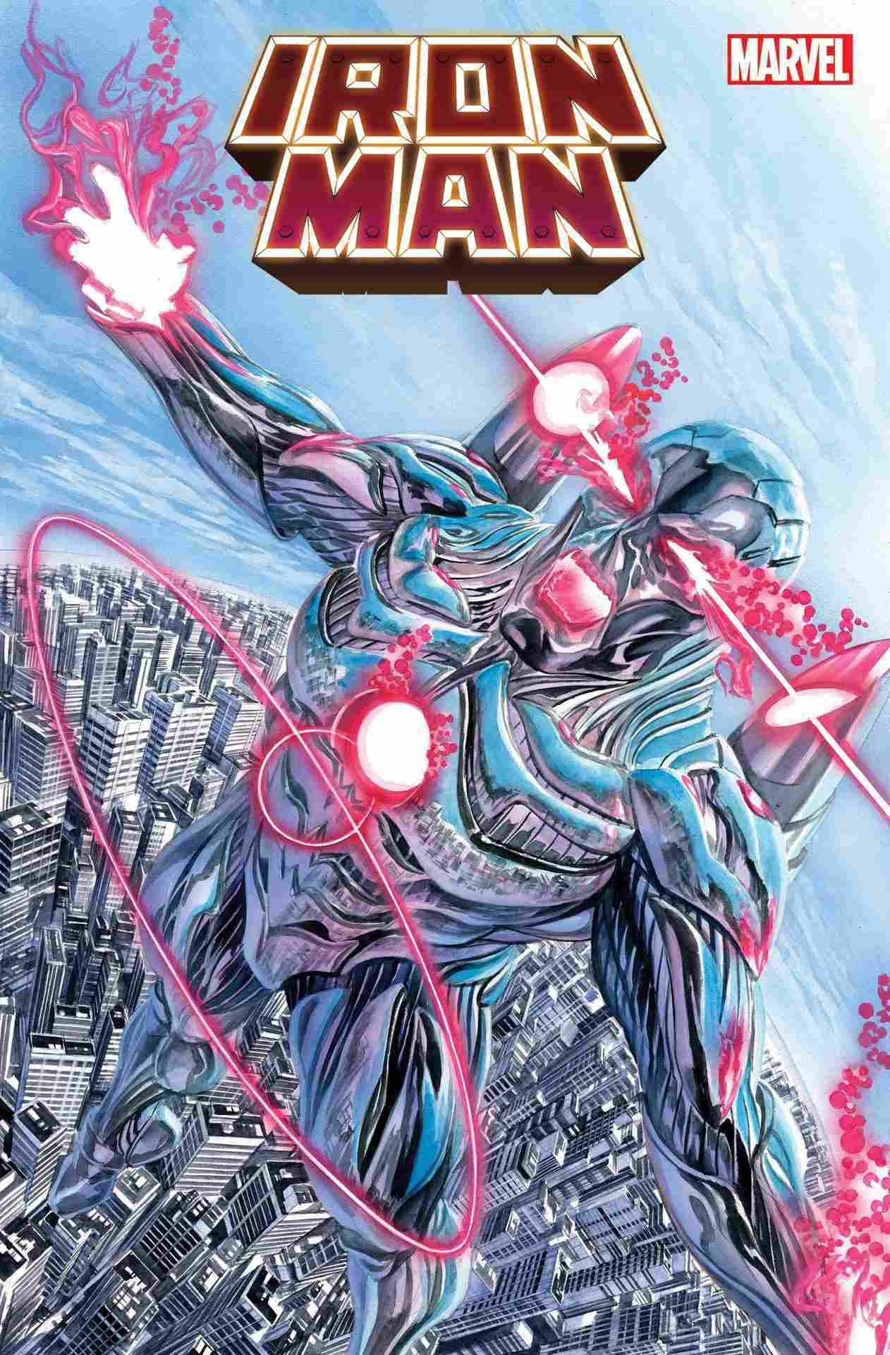Iron Man #14 Cover Alex Ross