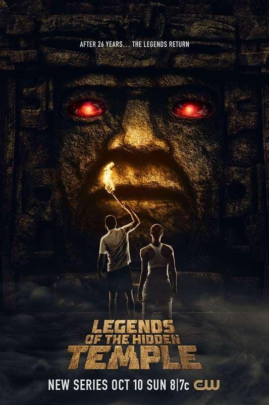 legends of the hidden temple reboot poster