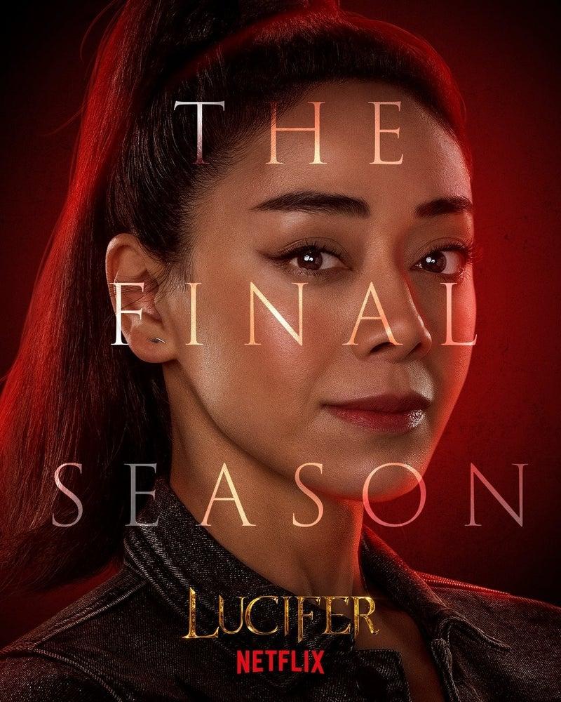 Lucifer Final Season 6 Character Posters Aimee Garcia Ella Lopez