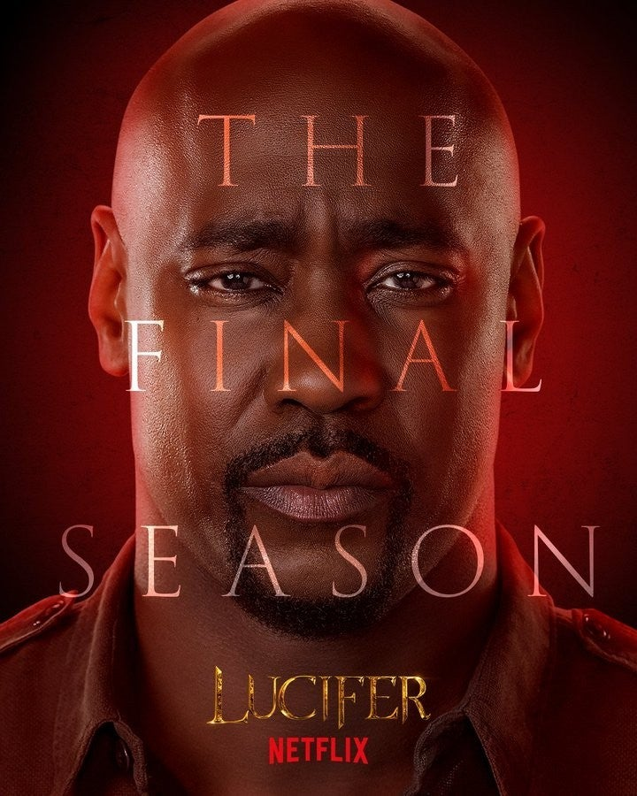 Lucifer Final Season 6 Character Posters DB Woodside Amenadiel