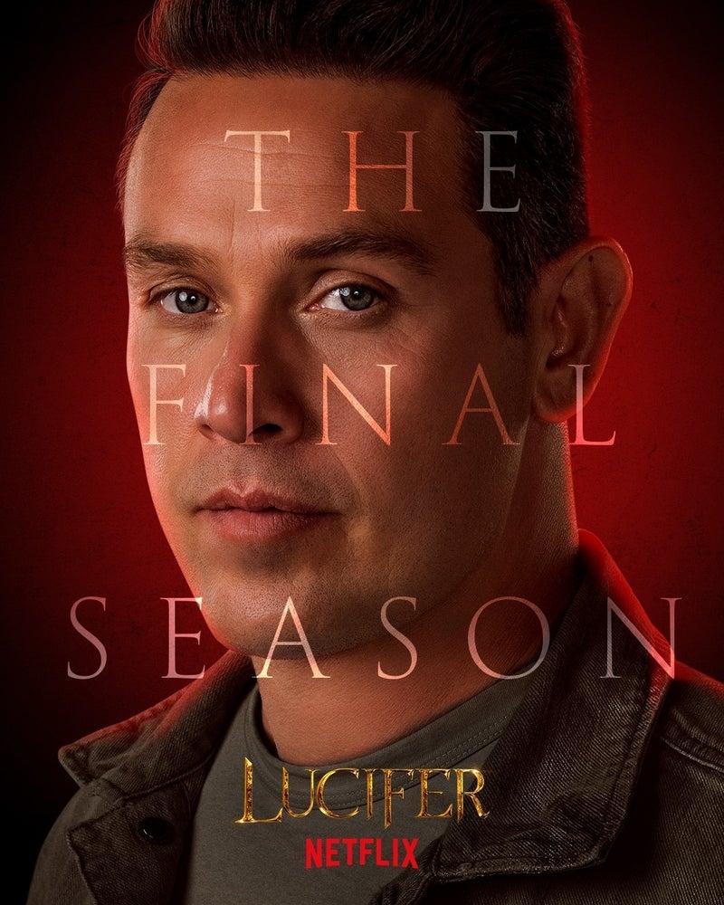 Lucifer Final Season 6 Character Posters Kevin Alejandro Dan Espinoza