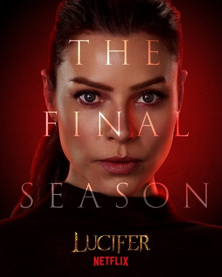 Lucifer Final Season 6 Character Posters Lauren German Chloe Decker