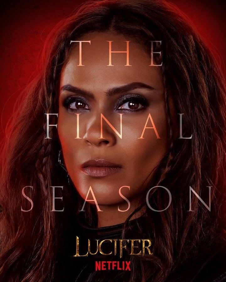 Lucifer Final Season 6 Character Posters Lesley-Ann Brandt Mazikeen