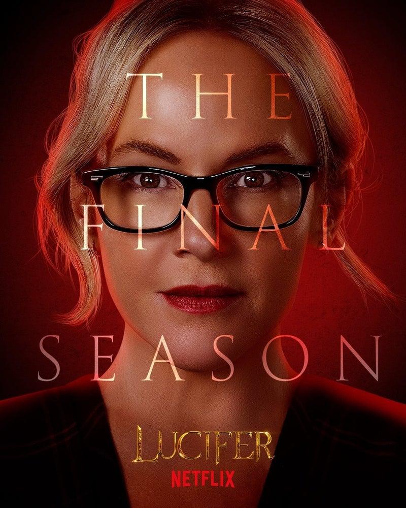 Lucifer Final Season 6 Character Posters Rachael Harris Linda Martin